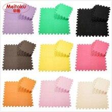 Meitoku bebé Ejercicio Gimnasio Piso alfombra de juegos de Protección de Espuma EVA Enclavamiento Pisos de Baldosas carpets30X30cm 10 unids/lote,