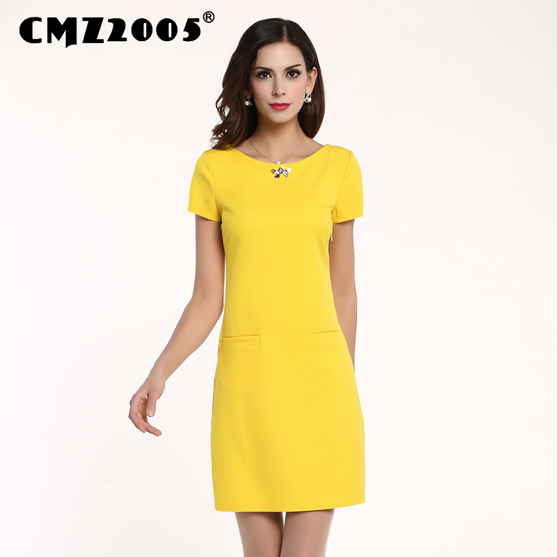 Summer Casual Robe Apparel Color sólido Harajuku Fashion Dress Vestidos de personalidad Regular Straight Freeshipping Real 71135