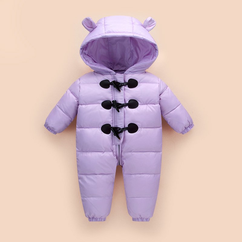 2017Winter Jumpsuit Kids Baby Snowsuit 90% Duck Down Jacket for Girls Coats Park For Boys Overalls Snow Wear Children's Clothing new 2017 russia winter boys clothing warm jacket for kids thick coats high quality overalls for boy down