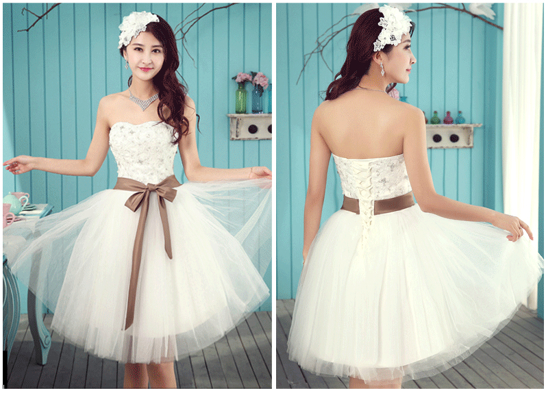 teen 8th grade short strapless corset graduation ball gowns for ...