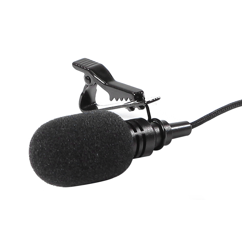 USB Stereo External Microphone High Fidelity Microphone for GoPro Hero 4 3 3 Action Camera ND998 in Microphones from Consumer Electronics