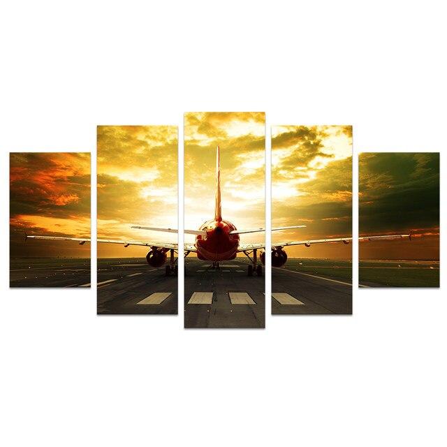 Online Shop Wall Art Photo Prints Aircraft Plane Take off Sky ...