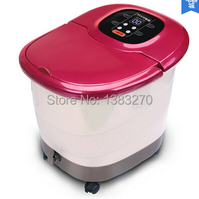 China foot bath massager foot tub equiptment massage machine foot spa 2019 as seen on tv Red