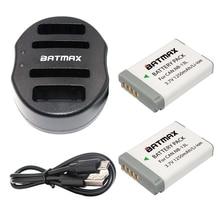 Promo offer Batmax 2pcs NB-13L NB 13L NB13L Battery+USB Dual Charger for Canon PowerShot G5 X G5X G7 X G7X G9 X G9X. Digital Camera Battery
