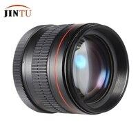 Jintu 85mm f/1.8 초상화 비구면 수동 초점 망원 렌즈 캐논 eos 650d 750d 700d 550d 600d 80d 70d 60d 60da 50d