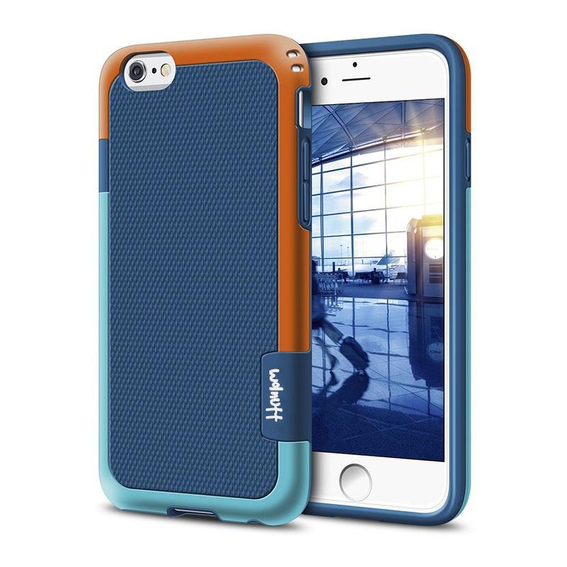 Противоударный Гибридный Силиконовый противоударный чехол для funda iPhone 6S 7Plus 7 8 Plus Xs Max XR Противоскользящий чехол для iPhone 11 Pro Max - Цвет: Blue