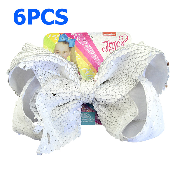 """20 BLESSING Good Girl Hair Accessories 7/"""" Cheer Leader Bow Elastic 83 No."""
