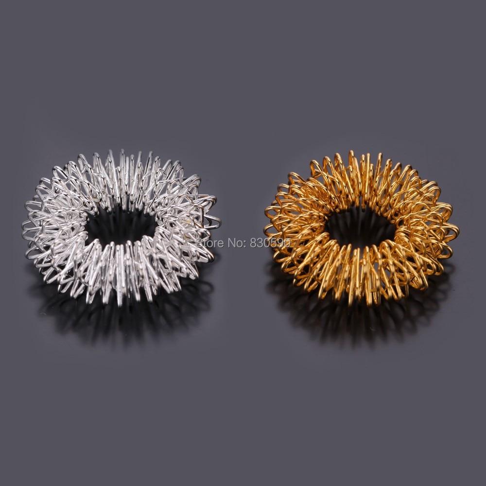 200ชิ้น/ล็อตนวดนิ้วแหวนมือนวดกดจุดนวดฝังเข็มแหวนปวดบำบัดนวดมือนวด-ใน นวดและการผ่อนคลาย จาก ความงามและสุขภาพ บน   1