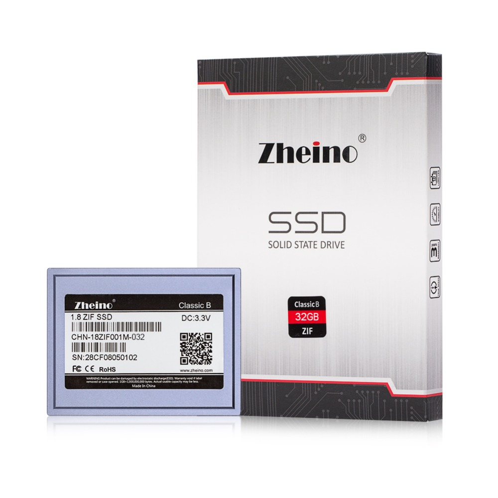 1.8 SSD ZIF 32GB MLC SSD For MacBook Air 1st A1237 D420 D430 HP Mini 1000 2710P For Toshiba 2410 Fujitsu U820 ASUS R2H ZUNE