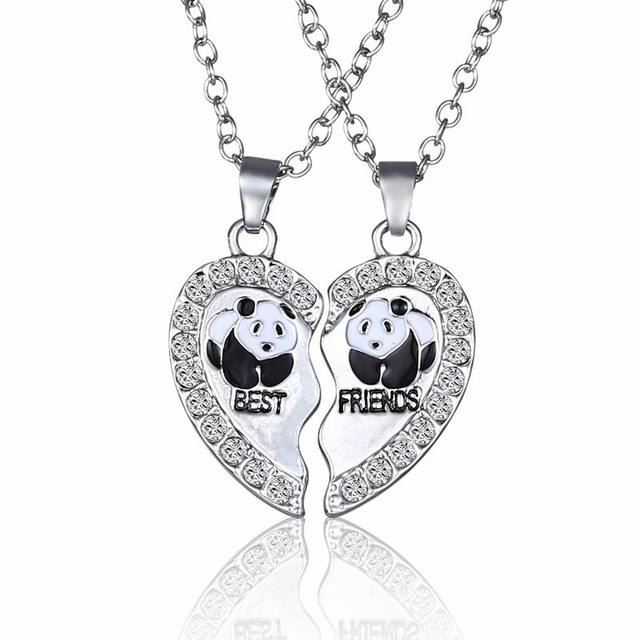 07f832e04b Broken Heart 2 Parts Animal Panda