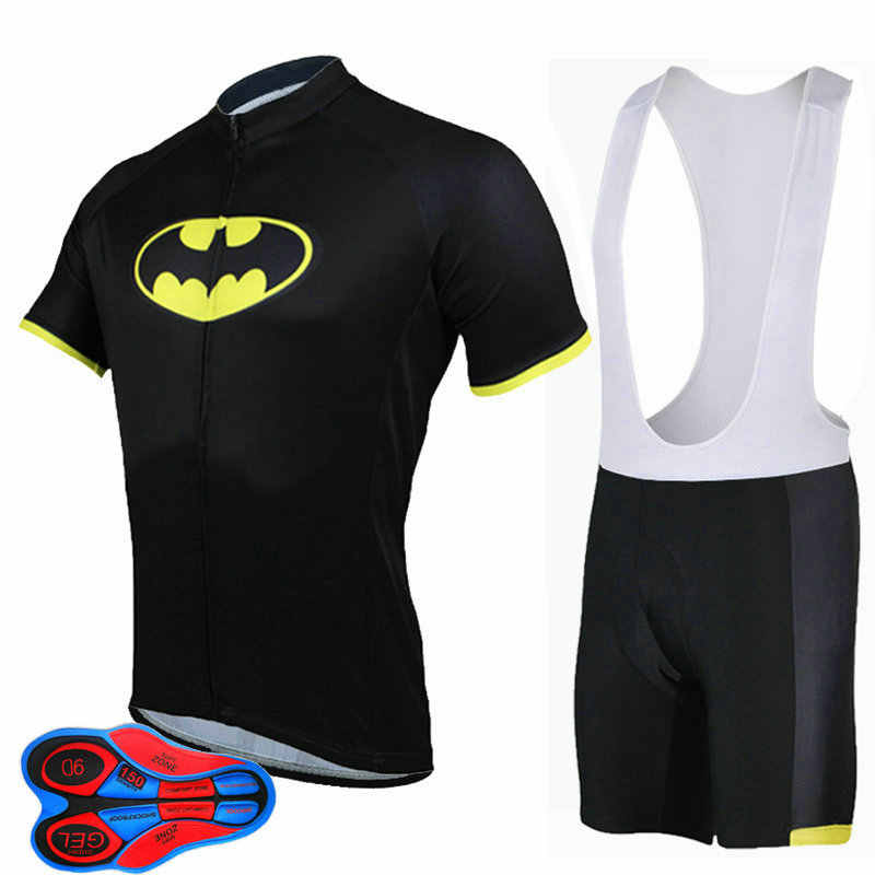 New Arrival Super Hero Cycling Jerseys Summer Breathable Ropa Ciclismo Bike  Sports Clothing Cycle Bicycle 9D 2521f7bd1