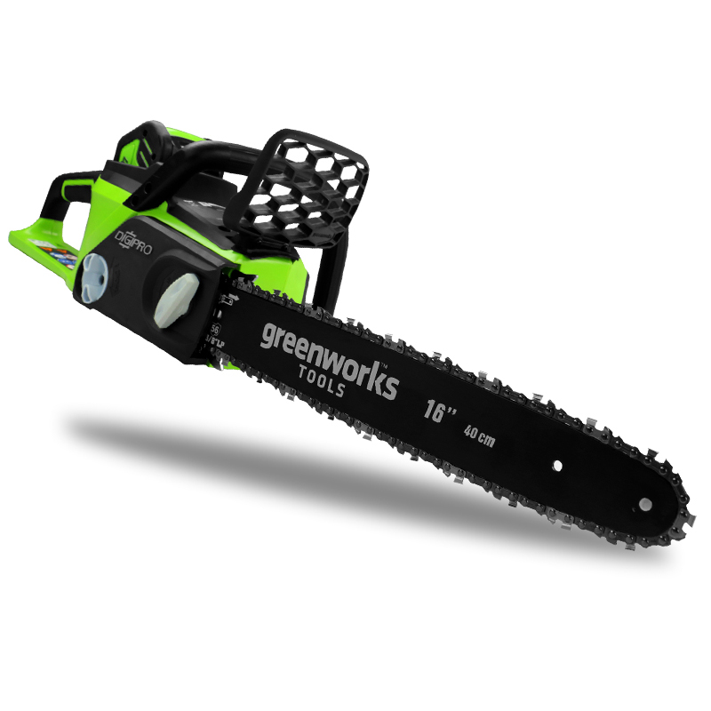 Chain Saw Brushless Electric Household Garden Wood Cutting Machine Battery Charger Cordless Electric Carpentry Saw Hand Chainsaw