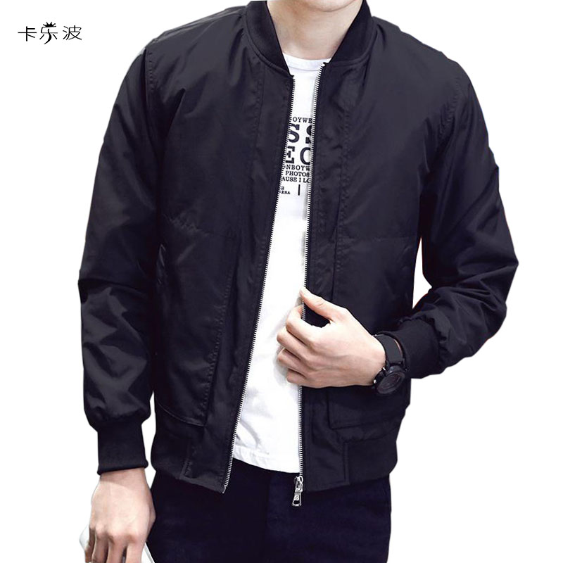 Jackets & Coats Jackets Have An Inquiring Mind Kalebo New Arrival Spring Autumn Mens Jackets Solid Fashion Coats Male Casual Slim Stand Collar Bomber Jacket Men Overcoat 4xl Skillful Manufacture