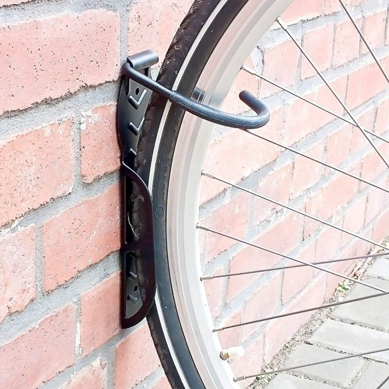 2pcs bicycle Wall Mount for hanging Bike holder bracket mountain bike stand perfect space saving tool bicycle accessories black