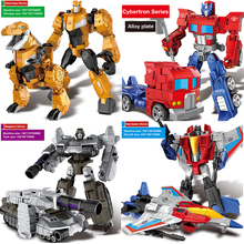 Anime Transformation Toys Robot Cars Super Hero Action Figures Model Plastic Alloy Kids Toys Gifts Boys 18pcs action figures plastic gun models ak47 ak471 aks47 miga m200 rpc toys for kids collections gifts