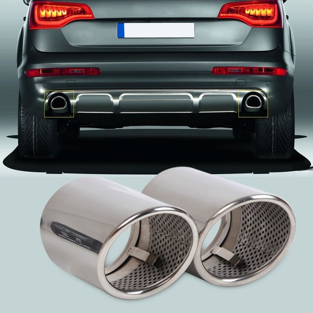 Audi q7 exhaust tips