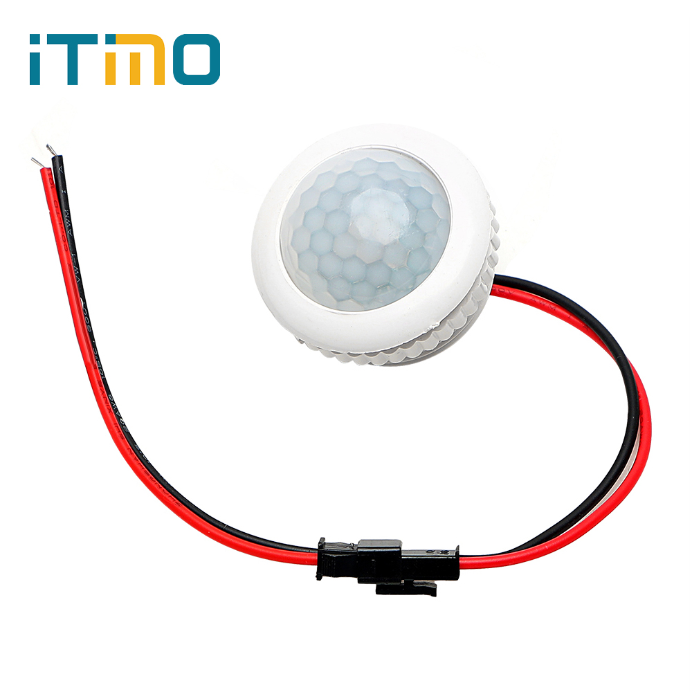 iTimo IR Infrared Human Body Induction Motion Sensor Detector for LED Lamp Bulb Control PIR Sensor Switch for Ceiling LightsiTimo IR Infrared Human Body Induction Motion Sensor Detector for LED Lamp Bulb Control PIR Sensor Switch for Ceiling Lights