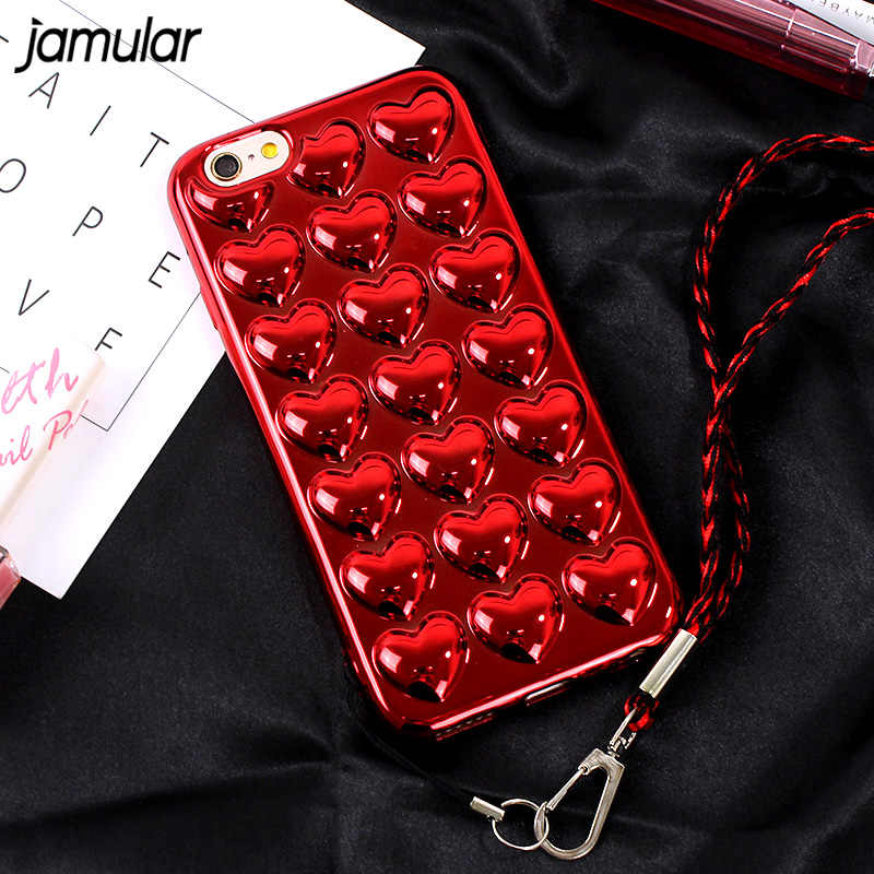 red heart coque iphone 6