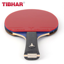 Genuine Tibhar Professional Table Tennis Racket Blade Rubber Pimples-in Ping Pong Rackets High Quality With Bag 6/7/8/9 Stars(China)