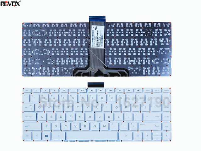 US $14 85 5% OFF|New US Laptop Keyboard For HP Pavilion x360 13 S White  Without FRAME ,WIN8 Repair Notebook Replacement keyboards-in Replacement