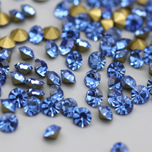 Pointback Rhinestones For Nails Art DIY Decoration Round Shape Design Point Back Glue-On Stone Clothing Accesories