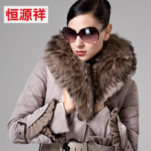 2016 new hot winter Thicken Warm woman Down jacket Coat Parkas Raccoon Fur collar Luxury End plus size 3XXXL Mid long black