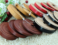 5Meters/lot Black/Red/Brown 3/5/8/10mm Flat Leather Cord for Necklace Bracelet Jewelry Making Materials Cordon Para Collares