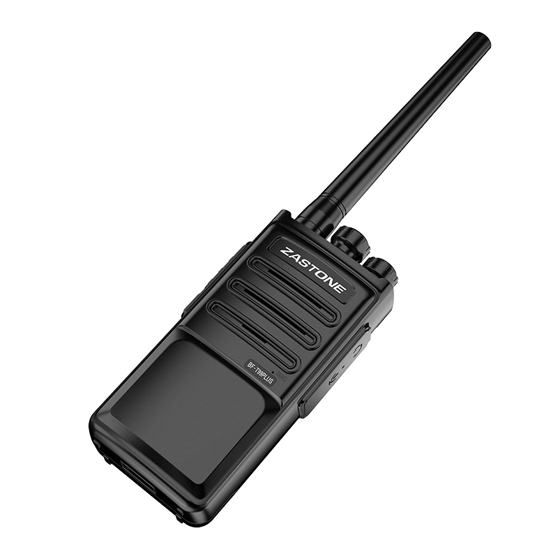 8pcs Zastone ZT-MINI8 Portable Walkie Talkie Mini Type 5W UHF 400-470MHz 128CH Black Color Handheld Two Way Radio Communicator