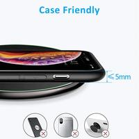 15W QI Quick Charging Wireless Fast Charger Usb Tpye C 10W QC 3.0 Charge For iPhone 11 Pro XS XR X 8 Samsung S10 S9 Xiaomi mi 9 4