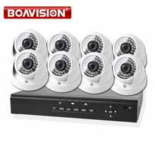 8CH 720 P CCTV POE NVR Sicherheit KIT 8 STÜCKE Hause Indoor 720 p CCTV POE Ip-kamera Sicherheit System kit XMEYE P2P BOAVISION