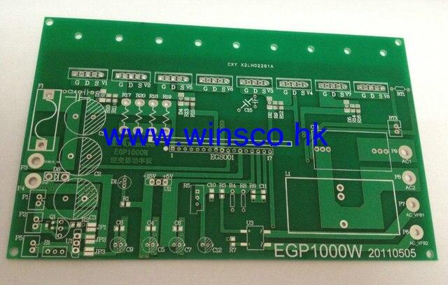 5PCS/LOT EGP1000W 100% NEW EG EGP1000W Pure Sine Wave Inverter Power Board PCB bare board eg8010