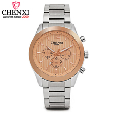 CHENXI Top Luxury Brand Men's All-Steel Quartz Watch Business Casual Style Men New Promotion Quartz Male Wrist Watches