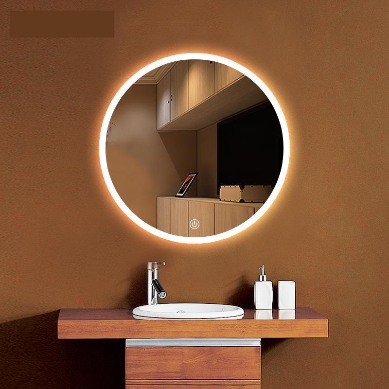 Wc Spiegel Mit Beleuchtung | Runde Ankleideraum Led Spiegel Licht Luminaria Bad Wc Led