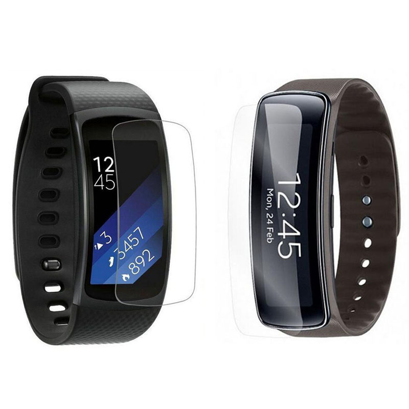 Anti-Scratch Soft TPU Ultra HD Clear Protective Film Guard For Samsung Gear Fit 2 Fit2 Pro R350/R360 Full Screen Protector Cover
