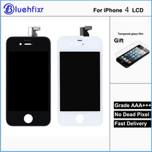 AAA Quality For iPhone 4 LCD Touch Screen Assembly 100% Brand New Display LCDs for iphone 4 Screen