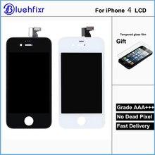Продажа Качество AAA для iphone 4 ЖК-дисплей Сенсорный экран сборки 100% Фирменная Новинка Дисплей ЖК-дисплей S для iphone 4 Экран