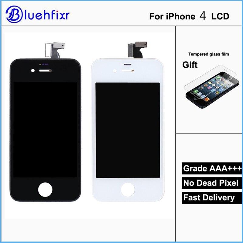 Calidad AAA para iPhone 4 LCD pantalla táctil Asamblea 100% a estrenar pantalla LCD para iPhone 4 pantalla