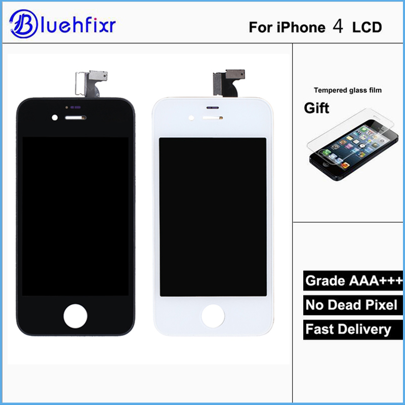 AAA Quality For IPhone 4 LCD Touch Screen Assembly 100 Brand New Display LCDs For Iphone