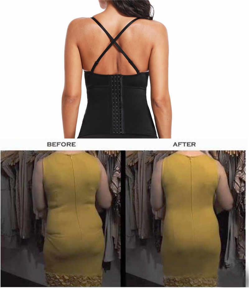 c4b857019c836 ... NINGMI Women Body Shaper U Plunge Wireless Bra Shapewear Bustier Top  Sexy Party Backless Hook ...