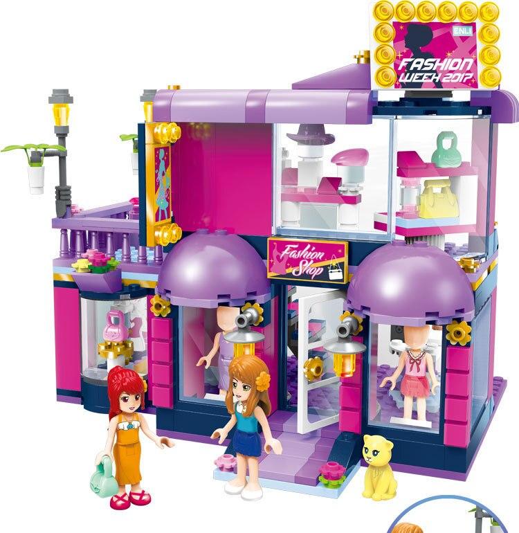 Blocos bainily shirley princesa casa de Feature 2 : Without Box
