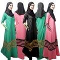 2016 Moda de Nova Chegada Oferta Especial Djellaba Jilbabs E Abayas Muçulmanos Malaios Mulheres Cor do Vestido Feminino 003 #