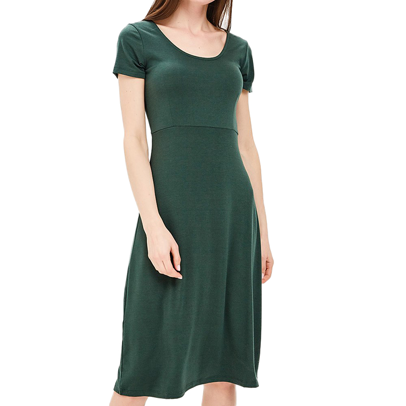 Dresses MODIS M181W00770 women dress cotton  clothes apparel casual for female TmallFS dresses dress befree for female half sleeve women clothes apparel casual spring 1811554599 50 tmallfs