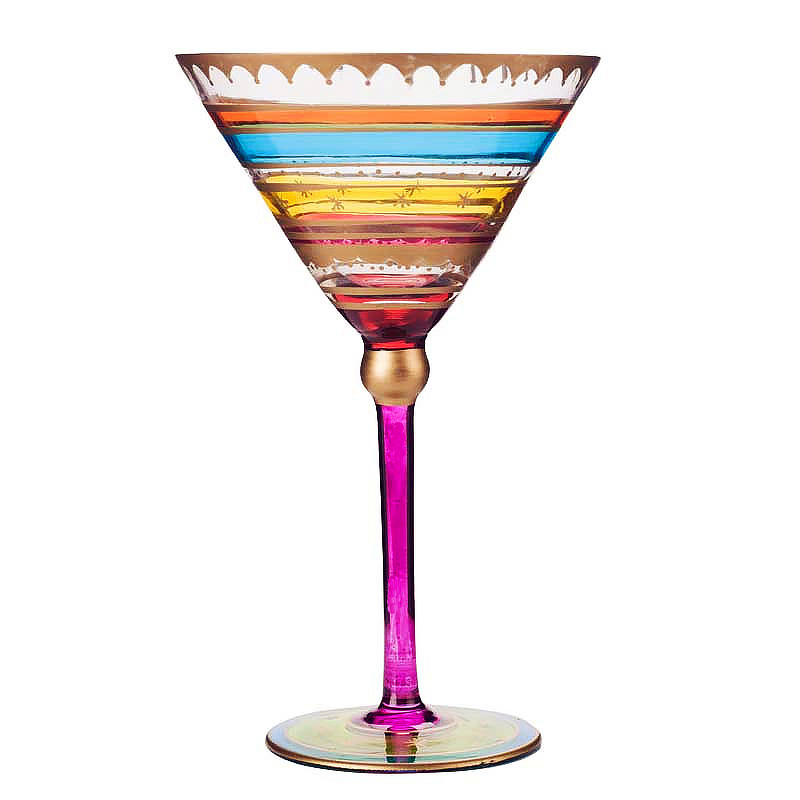 Europe Lead free Crystal Cocktail Glass cup Stemware Champagne cup Flute cup Wine cups Bar Hotel party Drinkware wedding gifts in Cocktail Glass from Home Garden