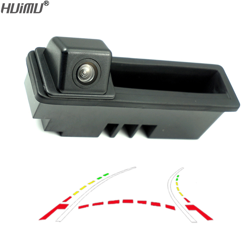 CCD 600Line Dynamic Trajectory Trunk handle Rear Camera For Posche Cayenne Audi A4 A4L A6 A6L A7 A5 Q7 Q5 Q3 RS5 RS6 A3 A8L Cam амортизаторы vauglin a4 a4l a6 a6l q5 q7 tt 100 200