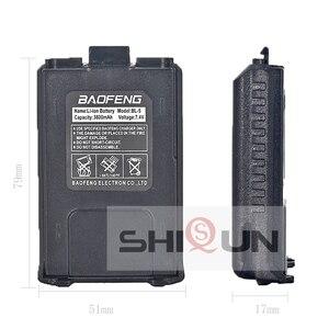 Image 2 - Лидер продаж, аккумулятор Baofeng с аккумулятором на 3800 мА/ч, аккумулятор Baofeng с большим объемом, совместимая с аккумулятором Baofeng, с УФ аккумулятором, с аккумулятором, с возможностью увеличения емкости, аккумулятор для батареи на 1/2/4/4/4/4/4/4/4/4/4/4/4/4/4/4/4/4/4/