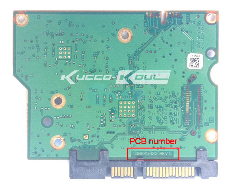 hard drive parts PCB logic board printed circuit board 100645422 for Seagate 3.5 SATA hdd ST1000DM003 ST2000DM001 ST3000DM001