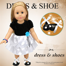 High End Simple Design Silicone Baby Dolls Clothes For Sale With Black And White Colour Best Collection For Girls Toys In Russia