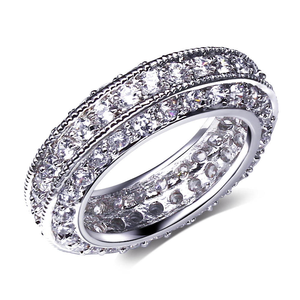 Aliexpress.com : Buy Beautiful Wedding Rings setting cubic ...