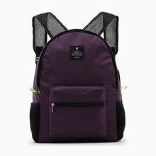 2018 New 5 Colors Women Men Folding Backpack Waterproof Nylon Ladies Hand Backpacks Casual Travel Bag School Bags wholesale(China)