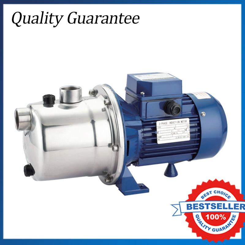 0.37KW High Pressure Water Jet Pump 220V/50HZ Sta inless Steel Self-priming Electric Water Pump SZ037D sz037d 0 5hp stainless steel jet pump domestic water pump self suction centrifugal booster pressure 220v water jet pump